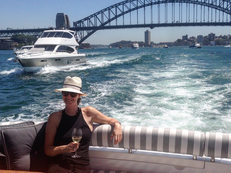 Whitehaven Motor Yachts Sydney Harbour Flybridge model