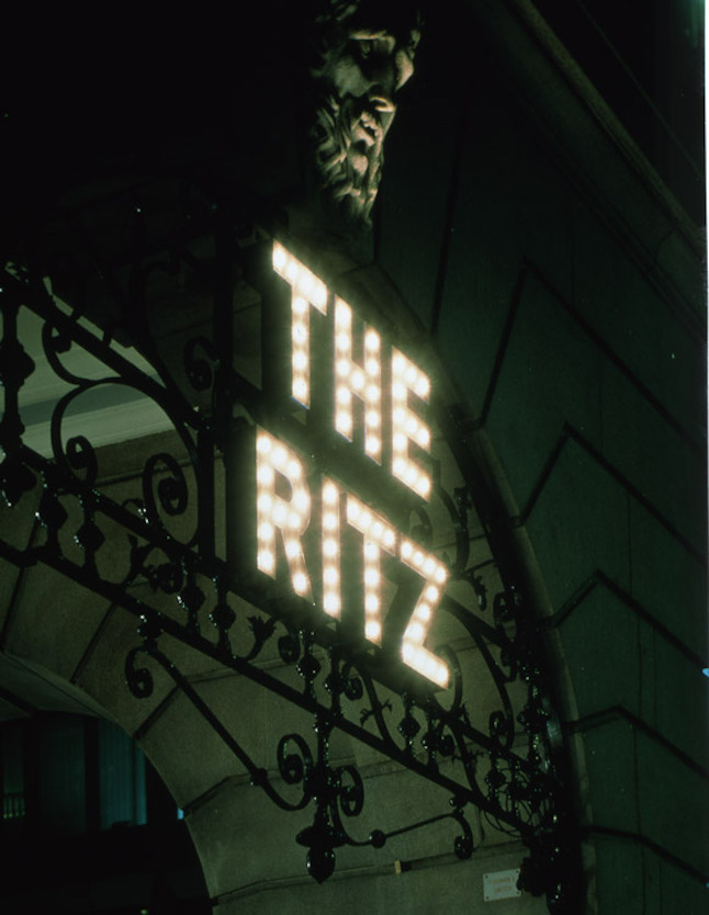ritz london welcome in lights