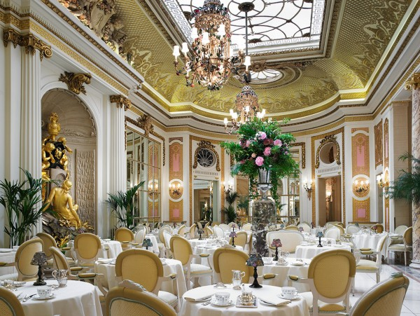Ritz London Palm Court afternoon tea tradition