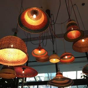 ham yard plastic and raffia lamps the shade bar photo susan skelly