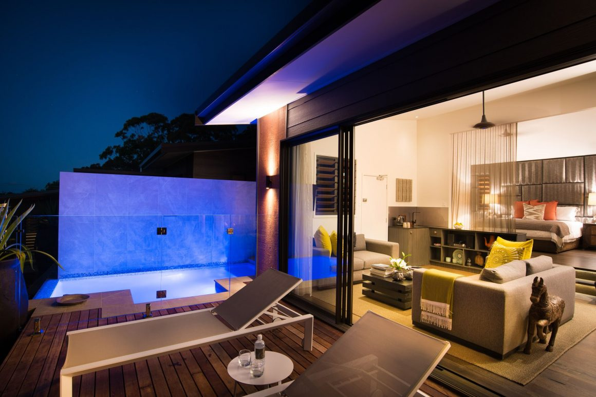 komala villa gaia retreat plunge pool intimate luxury