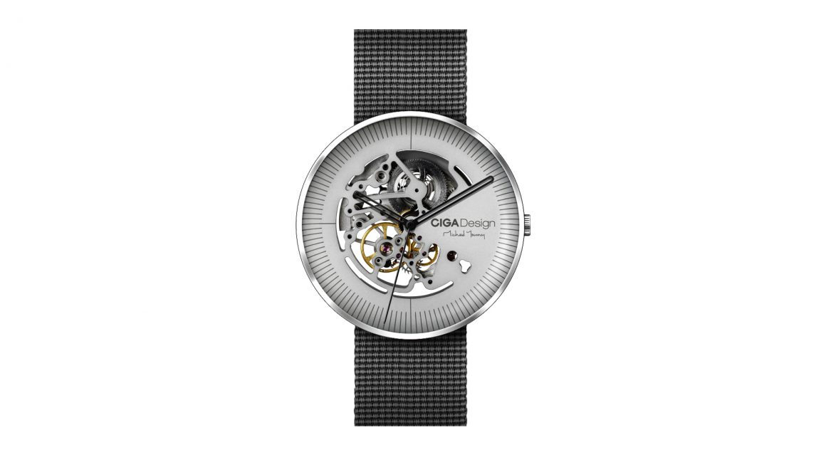 iFDesignAwards Michael Young watch automatic movement