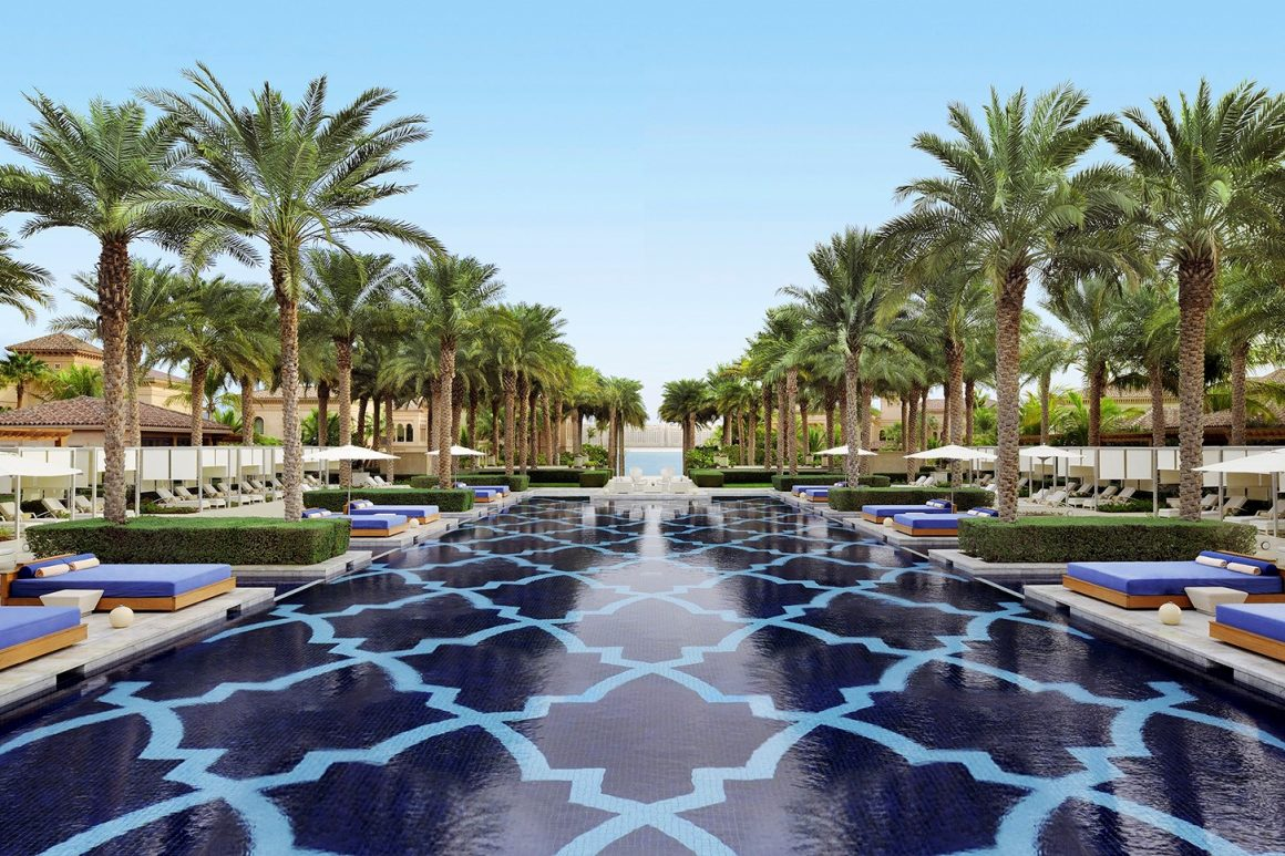 One And Only the Palm signature swimming pool dubai